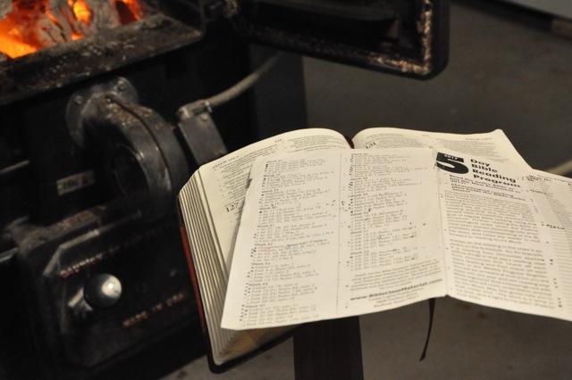 Thru the Bible in … a bit longer than a year!