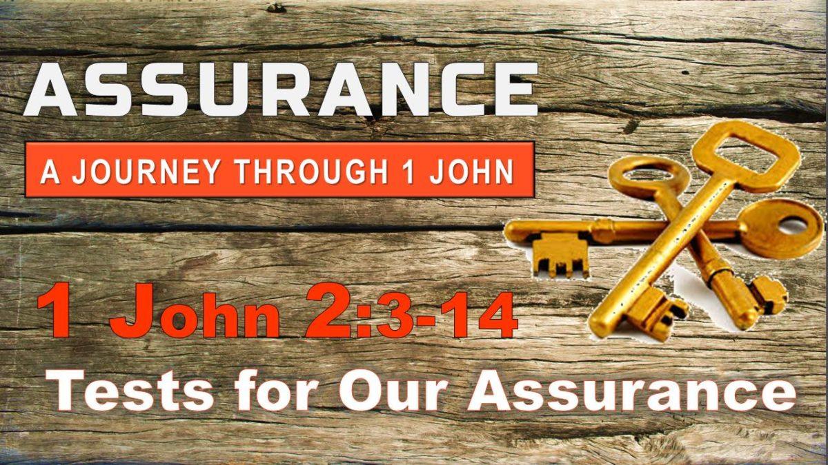 Tests for Assurance: 1 John 2.3-14