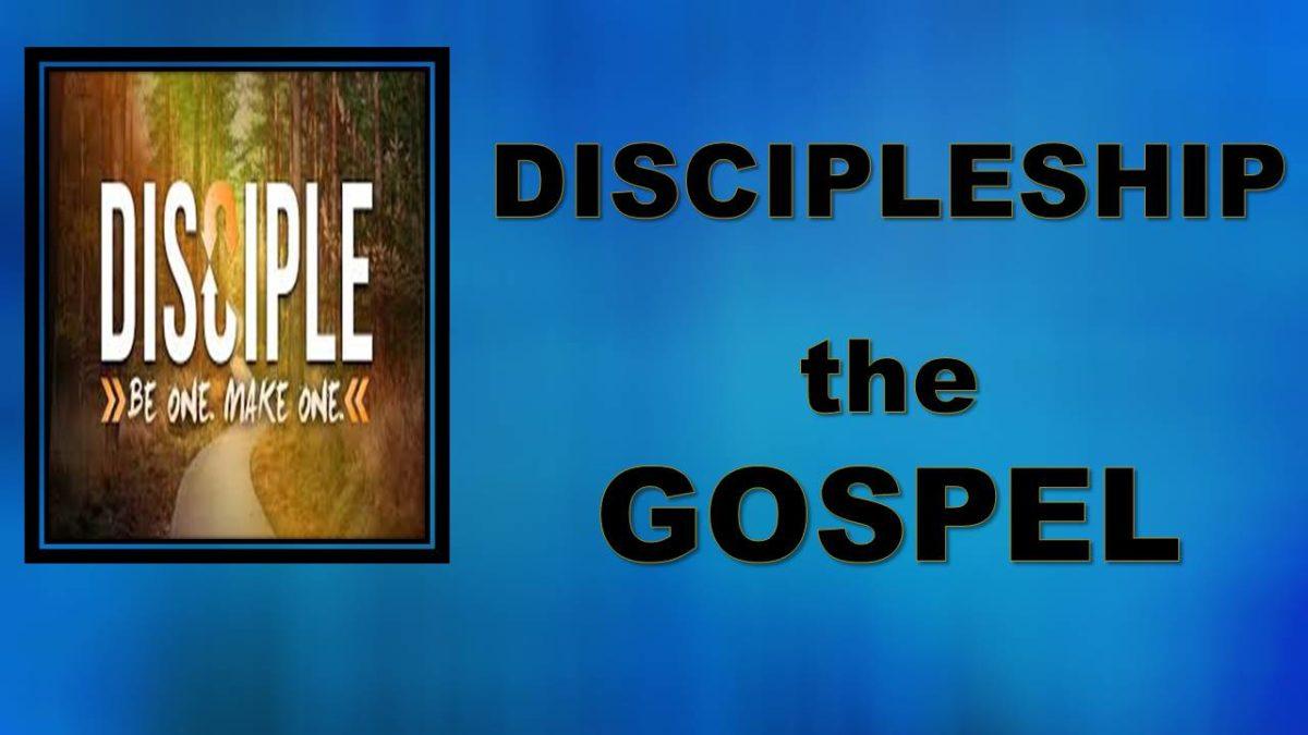 Discipleship—Gospel: 1 Cor 15.3; Rm 1.16